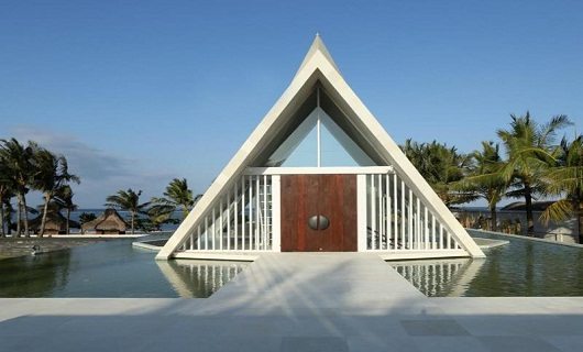The Royal Santrian Luxury Beach Villas nusa dua bali