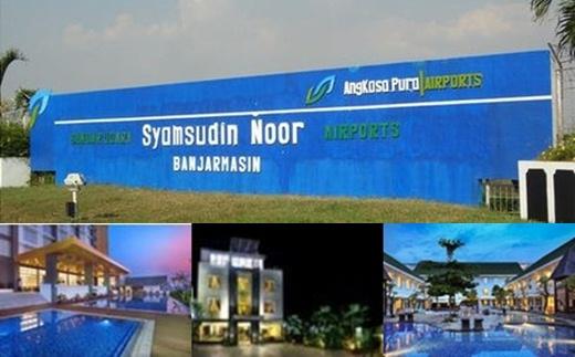 daftar hotel murah dekat bandara Syamsudin Noor Banjarmasin