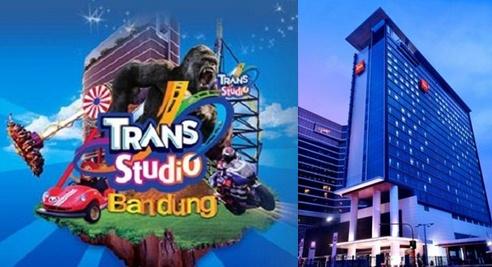 Daftar hotel murah dekat Trans Studio Bandung