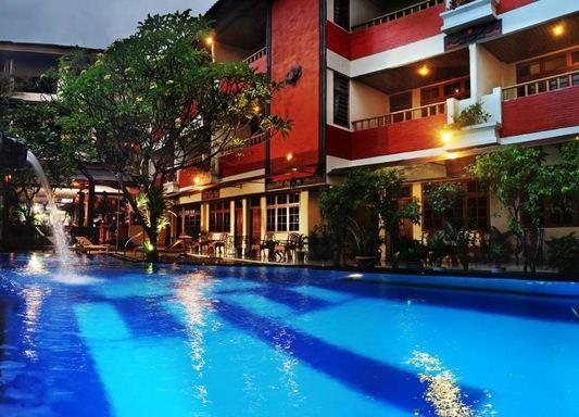 22 hotel bintang 2 di kuta Bali yang Bagus