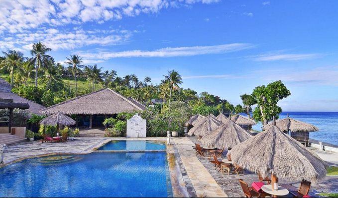 13 hotel dekat pantai Senggigi Lombok