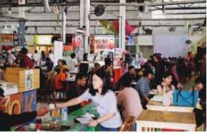 wisata kuliner pasar santa