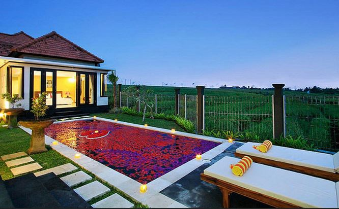 Villa Romantis private pool di Bali