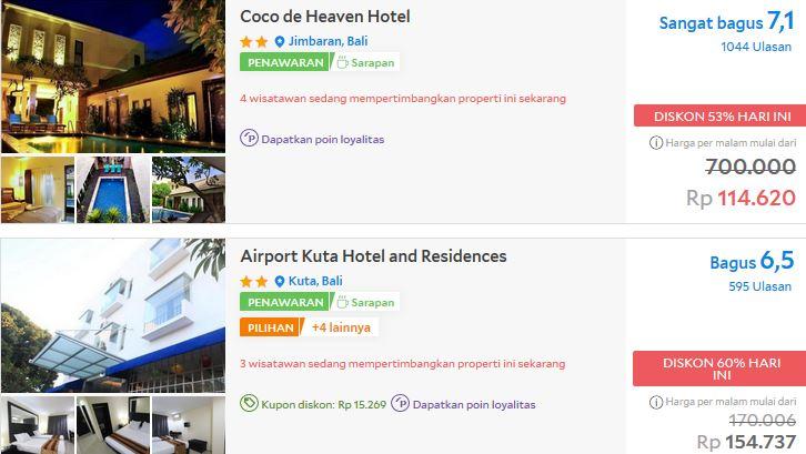 Dapatkan Promo Hotel di Bali Diskon hingga 50% Desember