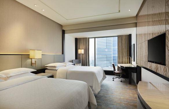 kamar Sheraton Grand Jakarta Gandaria City Hotel