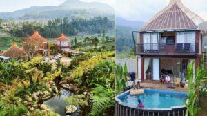Bubu Jungle Resort Private Pool Ciwidey