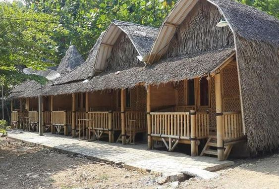 Bamboo Lengkung Cottage Indrayanti