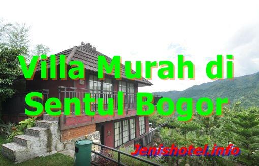 12 Villa Murah di Sentul City Bogor View Bagus Ada Kolam Renang