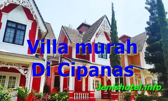 10 Villa Murah di Cipanas Cianjur Ada Kolam Renang