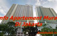 11 Apartemen Murah di Jakarta Harga Sewa 1 jutaan per bulan