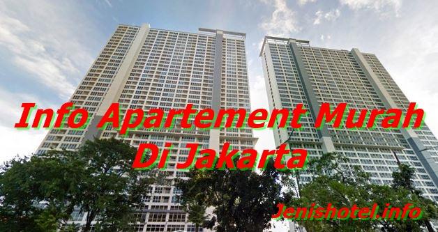 11 Apartemen Murah di Jakarta 1 jutaan per bulan