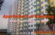5 Apartemen di Bandung Harga Sewa 1 Juta Per Bulan