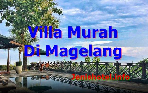 7 Villa Murah di Magelang untuk Keluarga ada Kolam Renang