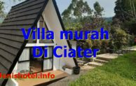 13 Villa murah di Ciater Subang yang Bagus mulai Rp.550.000