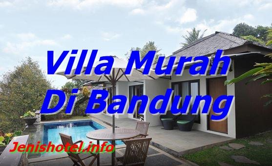 12 Villa Murah dan Nyaman di Bandung untuk Keluarga
